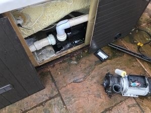 Hot tub repairs service in Nottingham - Pump replacement