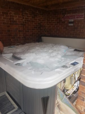 Pipe cleaning hot tub repairs and servicing in Northumberland and County Durham